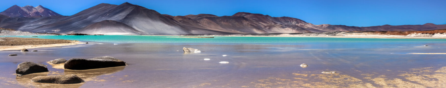Panorama Salar de Talar, Atacama Desert, Chile