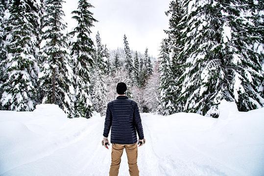 Winter Wanderlust Man