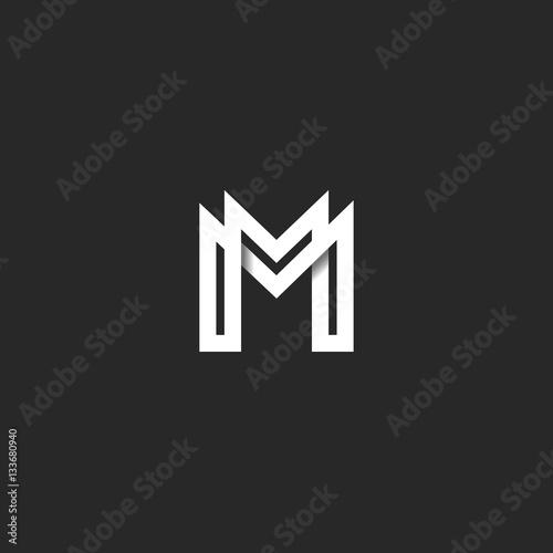 """M Letter Logo Wallpaper Hd """"Letter M ..."""