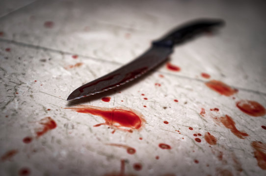 Murder Bloody Knife