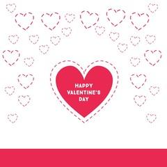 happy valentine's day, big heart