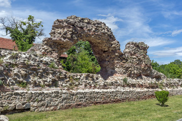 Remanings of Roman fortifications in Diocletianopolis, town of Hisarya, Plovdiv Region, Bulgaria