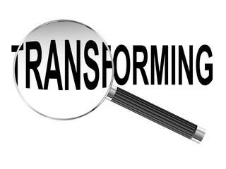Transforming Magnifying Glass