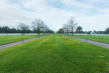 American Cemetery in Normandy Monument,France