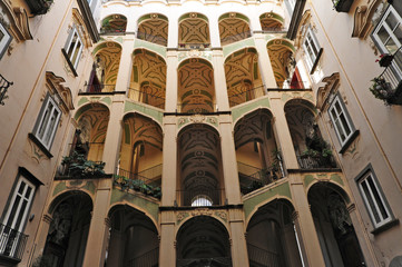 Napoli, Rione Sanità - Palazzo dello Spagnuolo