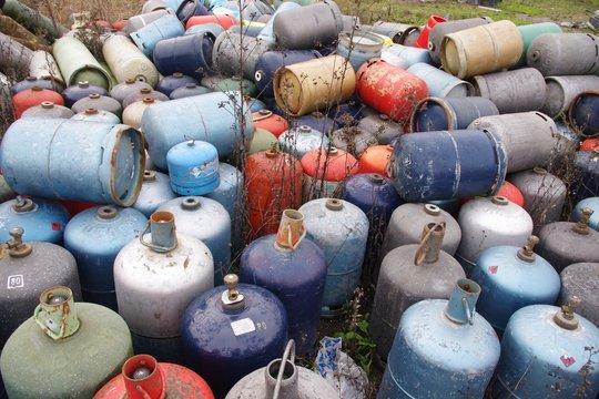decheterie bouteille de gaz