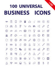 100 Universal Icons.