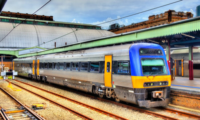Local train at Sydney Central Station