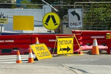 Road Construction detour