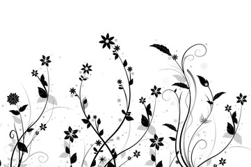 Floral Silhouetts