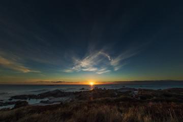 Sea at sunrise, Tasmania, Australia