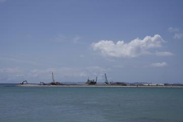 那覇空港 滑走路建設