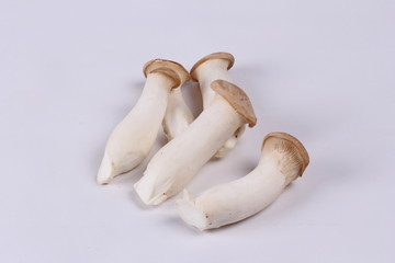 Ready served Eryngii mushroom  for cooking .