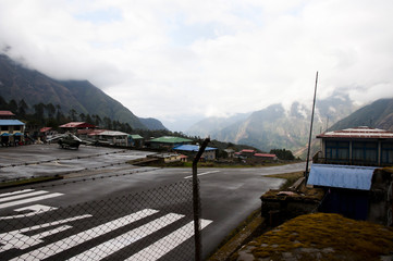 Dangerous Airport Strip - Lukla - Nepal