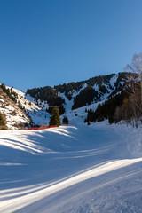 ski slope near Almaty