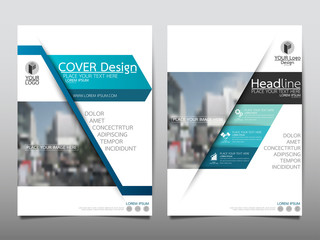 Blue technology flyer cover business brochure vector design, Leaflet advertising abstract background, Modern poster magazine layout template, Annual report for presentation.