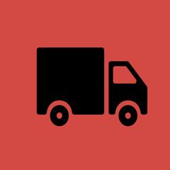 truck icon. flat design