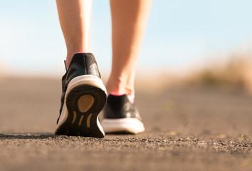 Walking exercise.