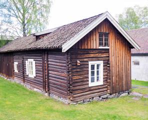 Wooden barn in Norway
