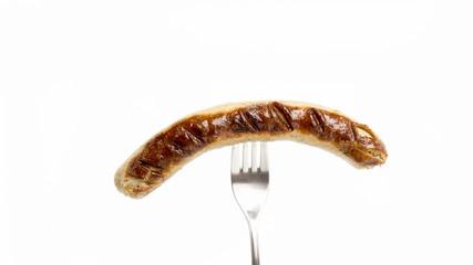Gegrillte Bratwurst.