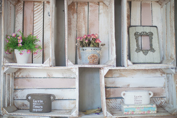 Vintage home arrangement