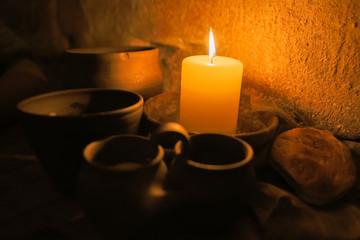 Medieval monastic meal