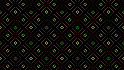 Abstract dark background with squares