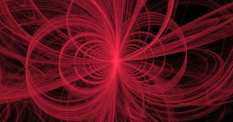 fractal pink loops and vortices