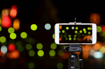 phone tripod video recording smartphone camera background wallpaper