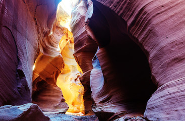 Photo Blinds Canyon Slot canyon