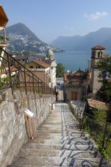 Overlooking Lake Lugano