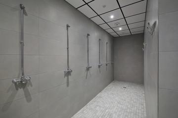 douches centre sportif
