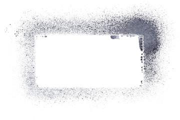 Gray stencil frame