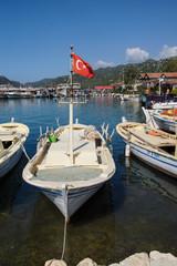 Boats in Kekove  harbor