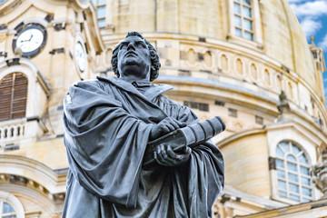 Dresden, Martin Luther Denkmal( Deutschland )