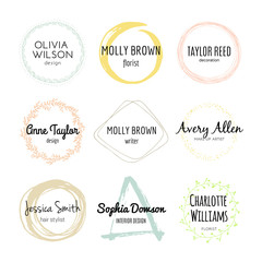Handdrawn Logo Collection