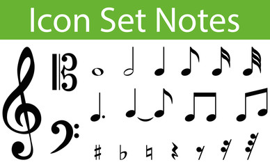 Icon Set Notes I