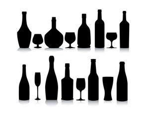silhouette bottles