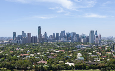 Capital city Manila. (Philippines)