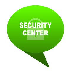 security center green bubble icon
