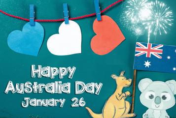 Search photos january 26 celebrate australia day holiday on january 26 with a happy australia day message greeting written across m4hsunfo