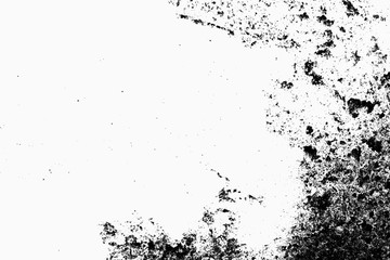 Black grunge texture. Place over any object create black dirty g