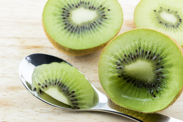 Wall Mural - Fresh Kiwi fruit