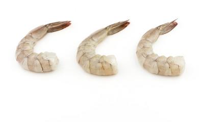 Raw shrimp