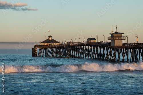 The imperial beach fishing pier in san diego california for Pier fishing san diego