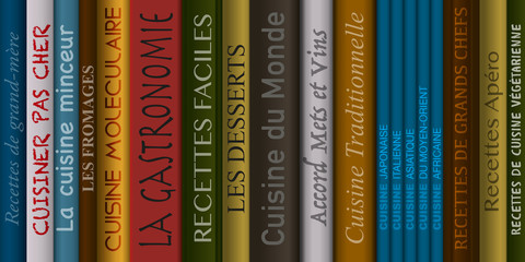 Livres de cuisine - Cuisine - recette - menu - cuisiner