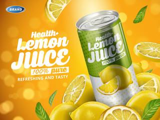 new lemon soft drink
