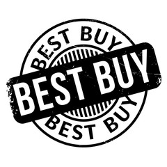 Best Buy rubber stamp