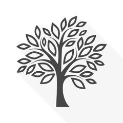 Simple tree - vector Illustration