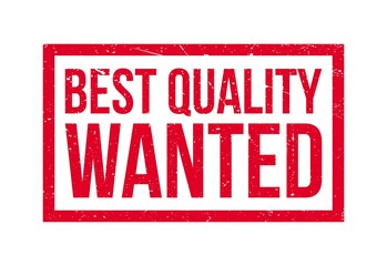 Best Quality Wanted rubber stamp